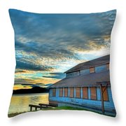 The Old Packing House Throw Pillow