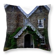 The Old Rectory At St. Juliot Throw Pillow