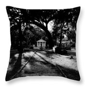 The Old Road To Eternity Throw Pillow