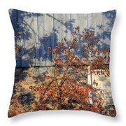 The Old Time Throw Pillow