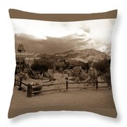 The Old West 1 Throw Pillow