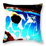The Old Whale Throw Pillow
