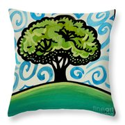 The Only Remaining Vestige Throw Pillow