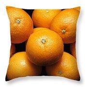 The Oranges Throw Pillow