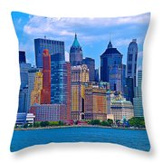 The Other Side Of The City Throw Pillow
