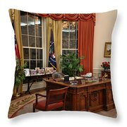The Oval Office Throw Pillow