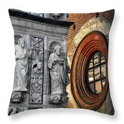 The Oval Window Throw Pillow