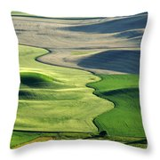 The Palouse 2 Throw Pillow