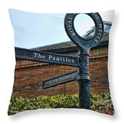 The Pantiles Throw Pillow