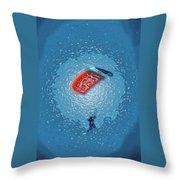 The Parachute Club Throw Pillow