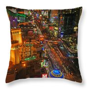 The Paris Balloon Throw Pillow