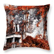 The Past Is The Past Throw Pillow