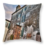 The Past Revealed Throw Pillow