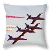 The Patriots Throw Pillow