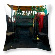 The Peerless Controll Booth Throw Pillow