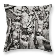 The People Throw Pillow