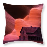 The Perfect Storm Throw Pillow by Bob Christopher