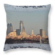The Philadelphia Experiment Throw Pillow