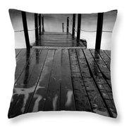 The Pier...protaras Throw Pillow