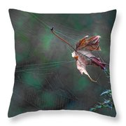 The Plot Thickens Throw Pillow