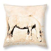 The Pony Throw Pillow
