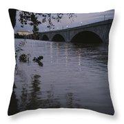 The Potomac Rivers Throw Pillow