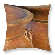 The Potters Wares Throw Pillow