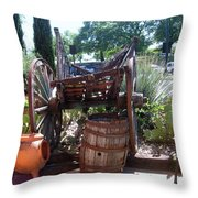 The Pourch Throw Pillow