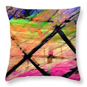 The Powers That Bind Us Square D Throw Pillow
