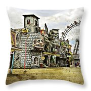 The Prater - Vienna Throw Pillow