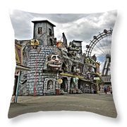 The Prater In Vienna Throw Pillow