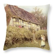 The Priest's House West Hoathly Throw Pillow