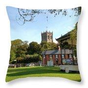 The Priory Throw Pillow