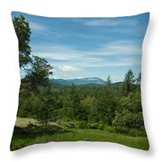 The Private Grove Throw Pillow