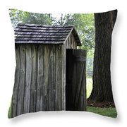 The Privy Throw Pillow
