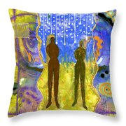 The Promise Keepers Throw Pillow
