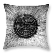 The Pupil Of The Eye Throw Pillow