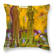 The Purpose Seekers Throw Pillow