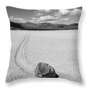 Death Valley California The Racetrack 2 Throw Pillow