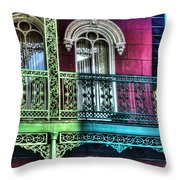 The Railing Throw Pillow