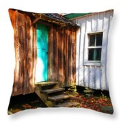 The Reagan House Kitchen Throw Pillow by Paul Mashburn