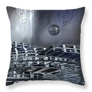 The Realm Below Throw Pillow