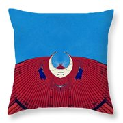 the red dress - Archifou 71 Throw Pillow