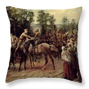 The Relief Of Ladysmith On 27th February 1900 Throw Pillow