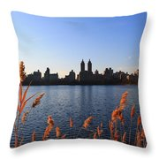 The Reservior Throw Pillow