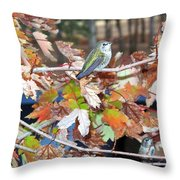 The Resting Tree Throw Pillow