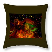 The Revellers Throw Pillow