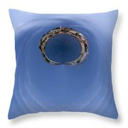 The Ring Of Primosten Throw Pillow