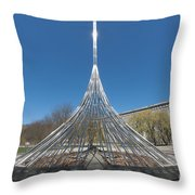 The Rising I Throw Pillow
