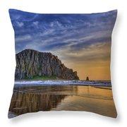 The Rock Throw Pillow